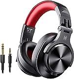 OneOdio A70 Auricurales Bluetooth Inalambricos 50H, Auriculares Cable de 3.5mm,...