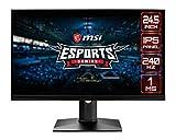 MSI Optix MAG251RX - Monitor Gaming de 24' LED FullHD 144Hz (1920x1080, ratio...