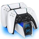 OIVO Cargador Mando PS5, 2H Rápido Base de Carga para Playstation 5 DualSense,...