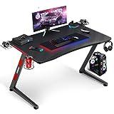 GTPLAYER Mesa Gaming PC Ordenador para Jugadores Estilo de Carreras de Juegos...