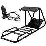 VEVOR Soporte para Volante Asiento para Simulación de Conducción Racing...