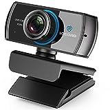 LOGITUBO CáMara Web, Webcam Full HD 1080P Doble MicróFono para Videollamadas y...