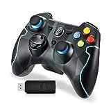 EasySMX Mando para PC, [Regalos Originales] Mando Inalámbrico PS3 Gamepad...
