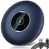 Allgetc® USB Micrófono de Conferencia, Omnidireccional de 360 °, Plug & Play,...