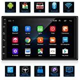 ANKEWAY Android 9,1 Radio de Coche 2 DIN Car Stereo 7 Pulgadas 1080P HD Pantalla...