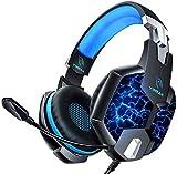 Auriculares Gaming PS4, YINSAN Cascos Gaming Premium Estéreo con Micrófono, 7...
