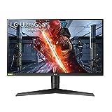 LG 27GN750-B Ultragear - Monitor Gaming (Panel IPS: 1920x1080p, 16:9, 400...