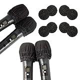 Paquete de 200 fundas desechables para micrófono no tejido cubierta de...