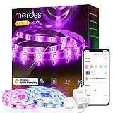 Tiras LED Wi-FiLuces LED RGB 10M (5m*2), Tira de Luz IP20, 12V, Admite DIY....
