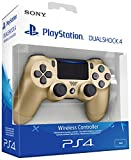 Sony - Dualshock 4 V2 Mando Inalámbrico, Color Dorado (PS4)