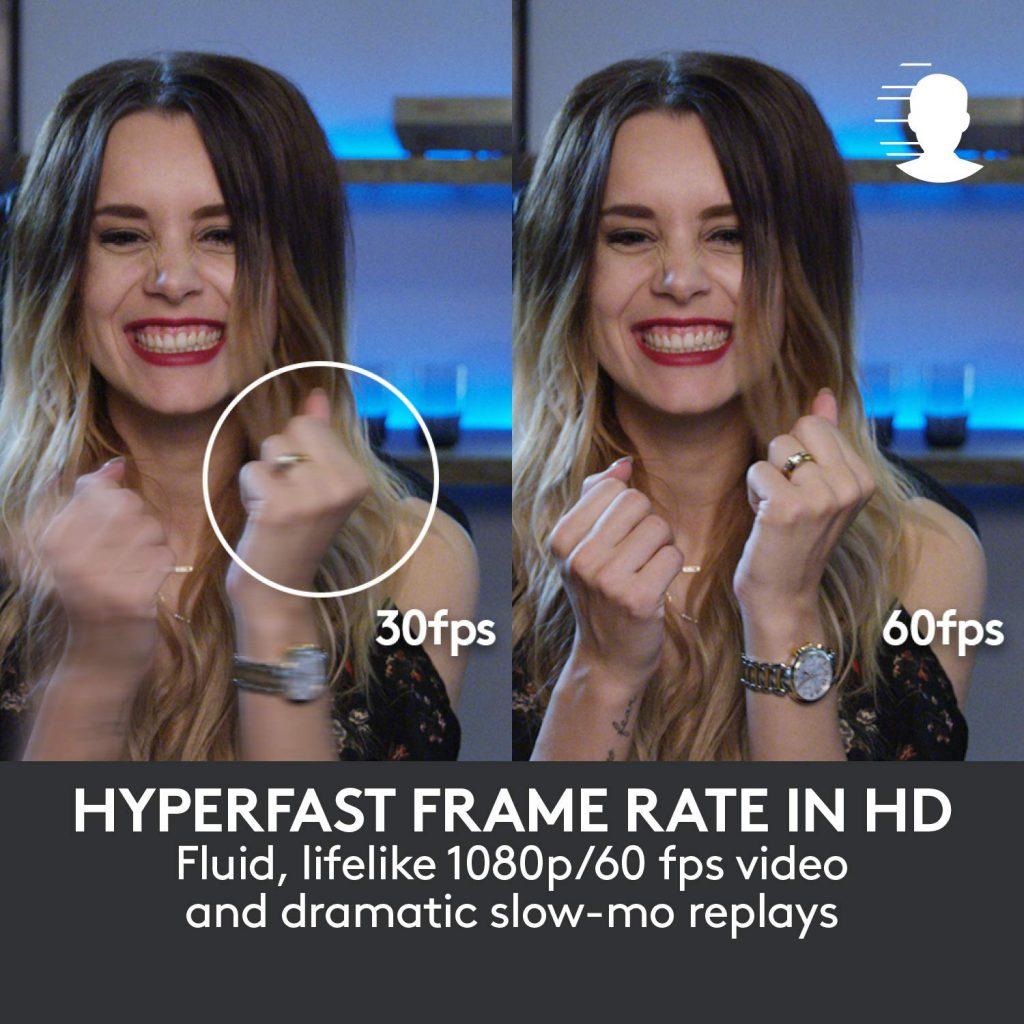 La mejor webcam para streamer Logitech Brio 4K