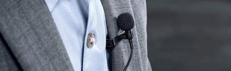 Comprar microfono de solapa