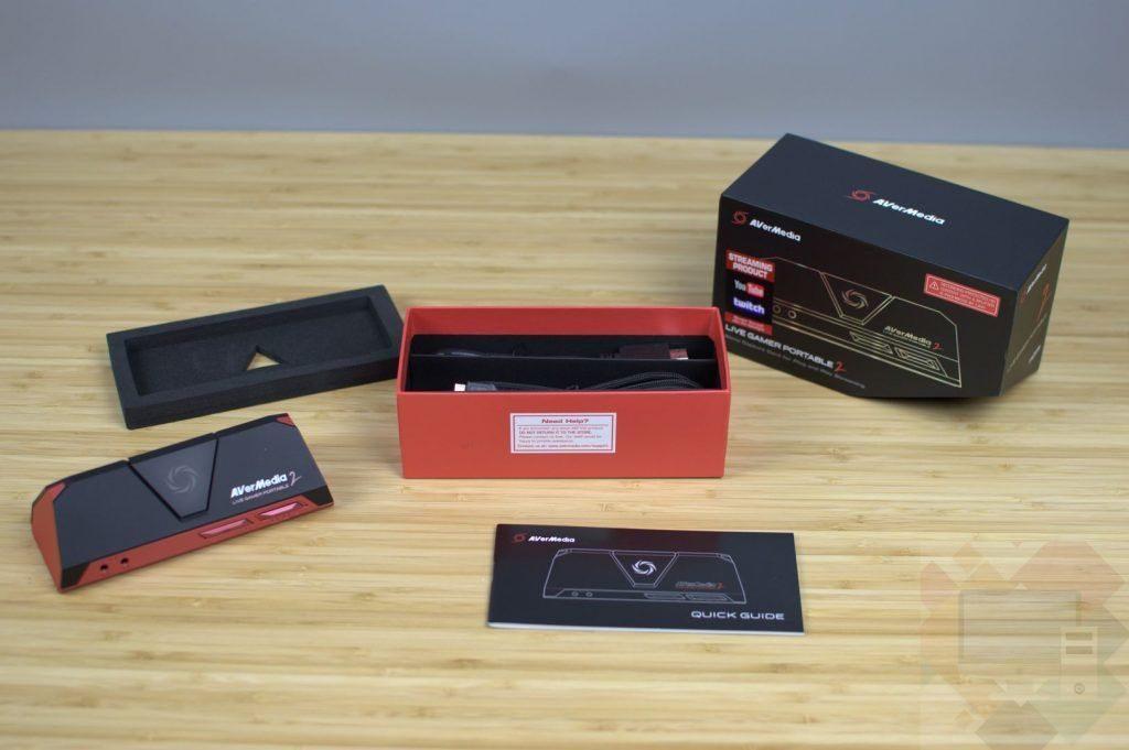 caracteristicas y especificaciones de la Avermedia Live Gamer Portable v2 Plus