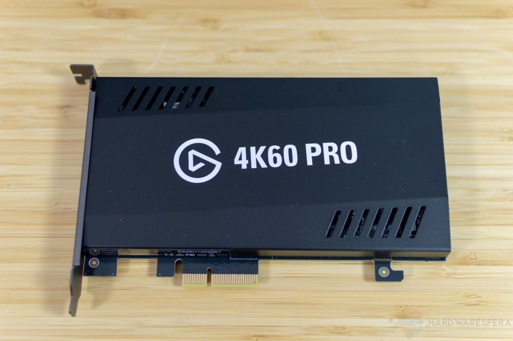 Conexion PCI de la capturadora ELgato 4K60 Pro