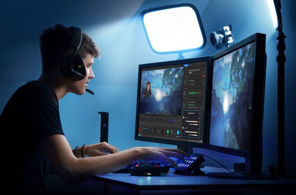 luz para streaming