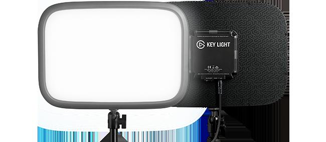 Foco led para hacer streaming calidad precio es ELgato Key Light