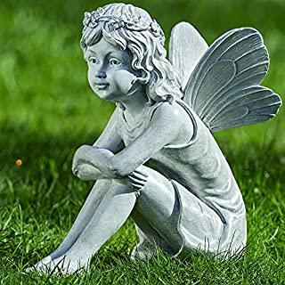 figuras de duendes y hadas para jardin