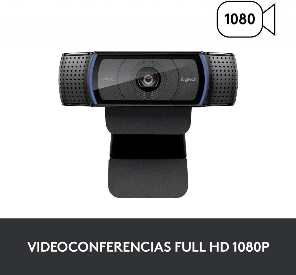 la mejor webcam 1080p