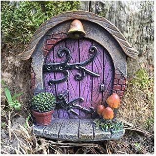 puertas de duendes para jardin
