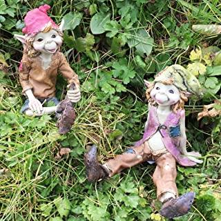 figuras de duendes de jardín