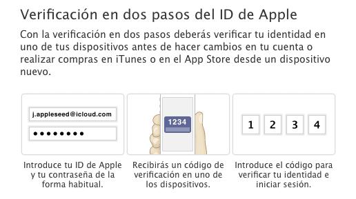 activar la verificacion en dos pasos en el iphone
