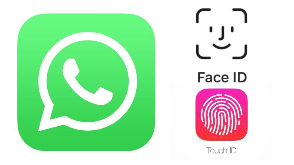 como activar face id en whatsapp