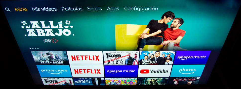 fire tv stick aplicaciones