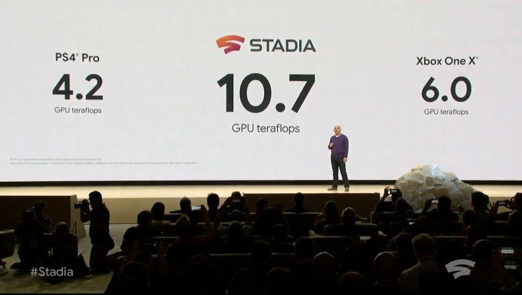 google stadia potencia