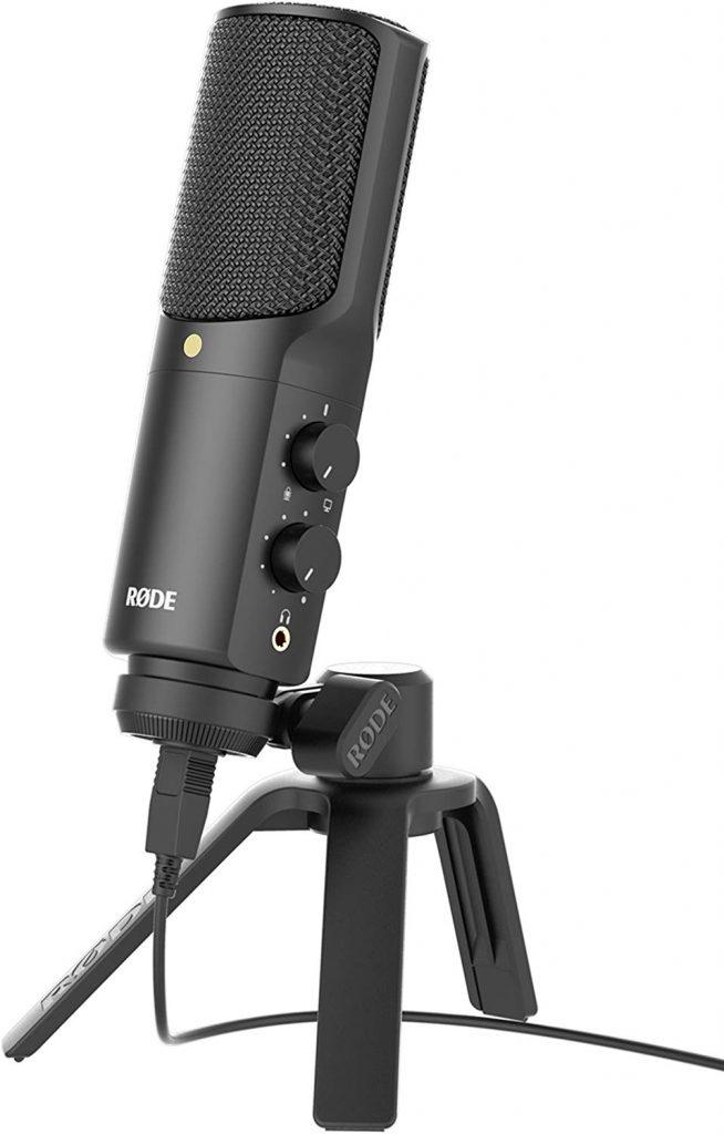 microfono de podcast