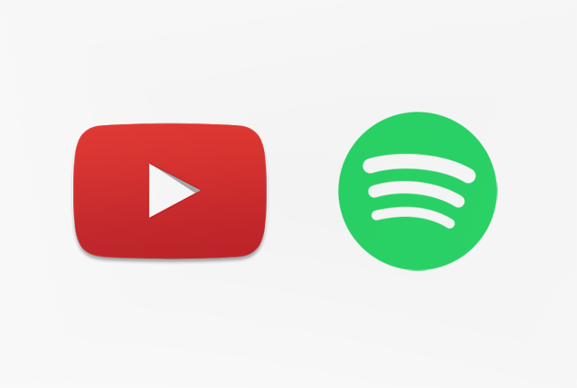 cambiar de spotify a youtube music
