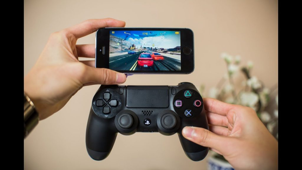 mando ps4 bluetooth iphone