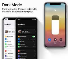 el modo oscuro ahorra bateria