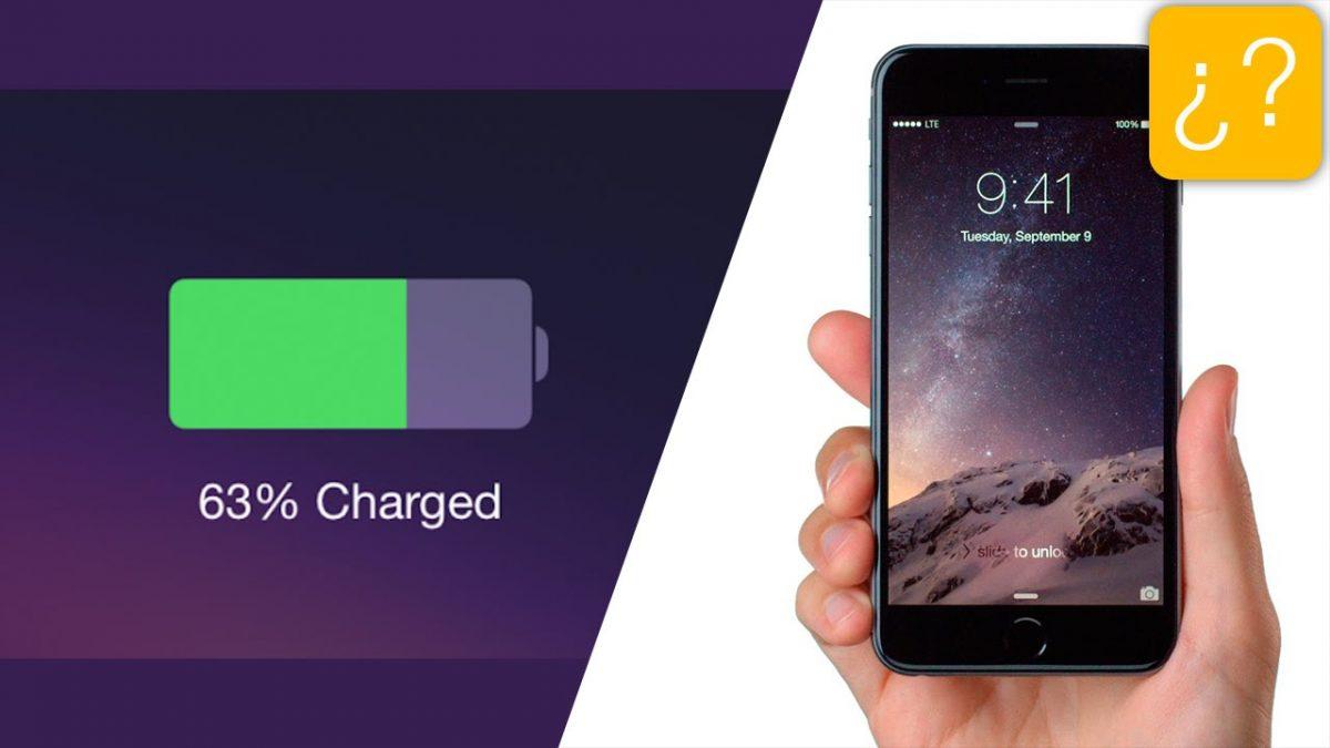 Como calibrar la batería del iPhone