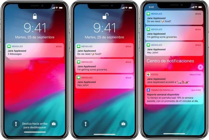 desactivar notificaciones en el iphone