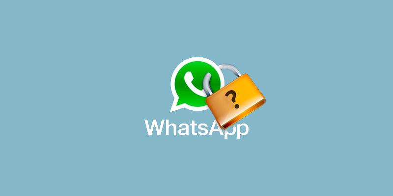 como establecer contraseña en whatsapp