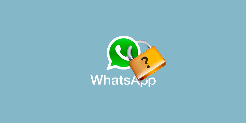 Como poner contraseña a Whatsapp, reconocimiento facial o huella en 2020