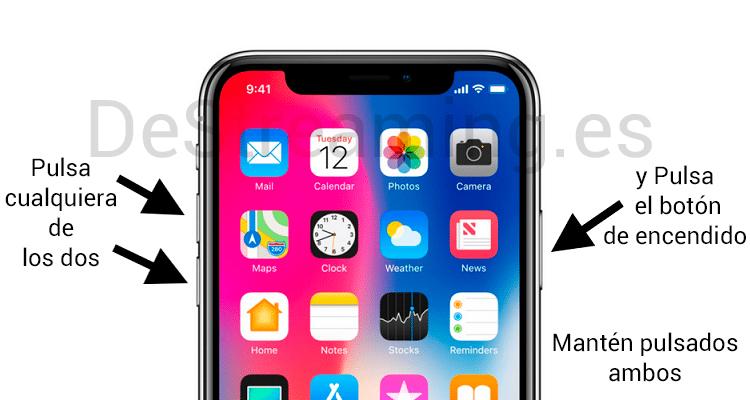 como apago el iphone xr