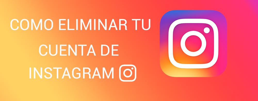 Como eliminar cuenta de Instagram para siempre 2020
