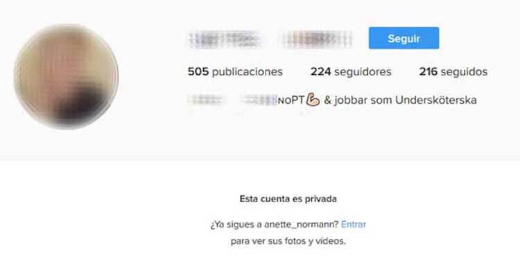 como poner cuenta privada en instagram