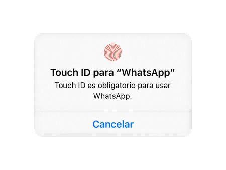 como poner face id en whatsapp