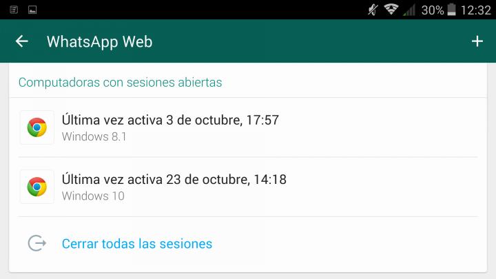 ver whatsapp de otra persona con whatsapp web