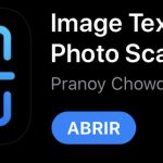 Como escanear un documento OCR con el iPhone