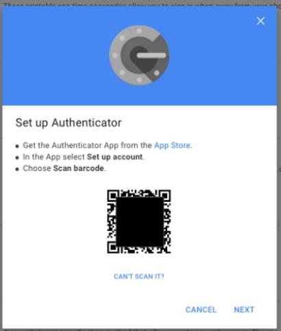 activar verificacion en dos pasos de google con authy