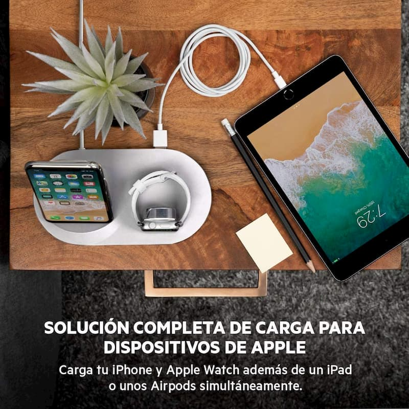 base de carga inalambrica para iphone