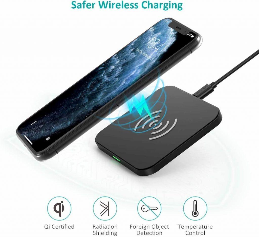 cargador sin cables para iphone