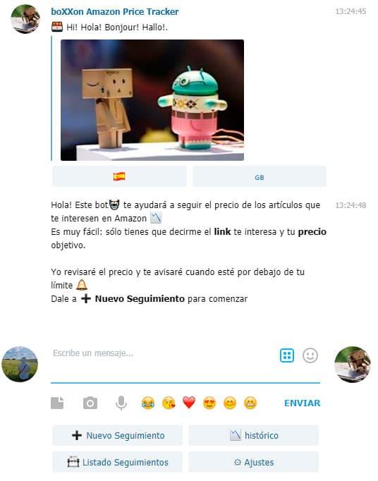 bot telegram precios amazon