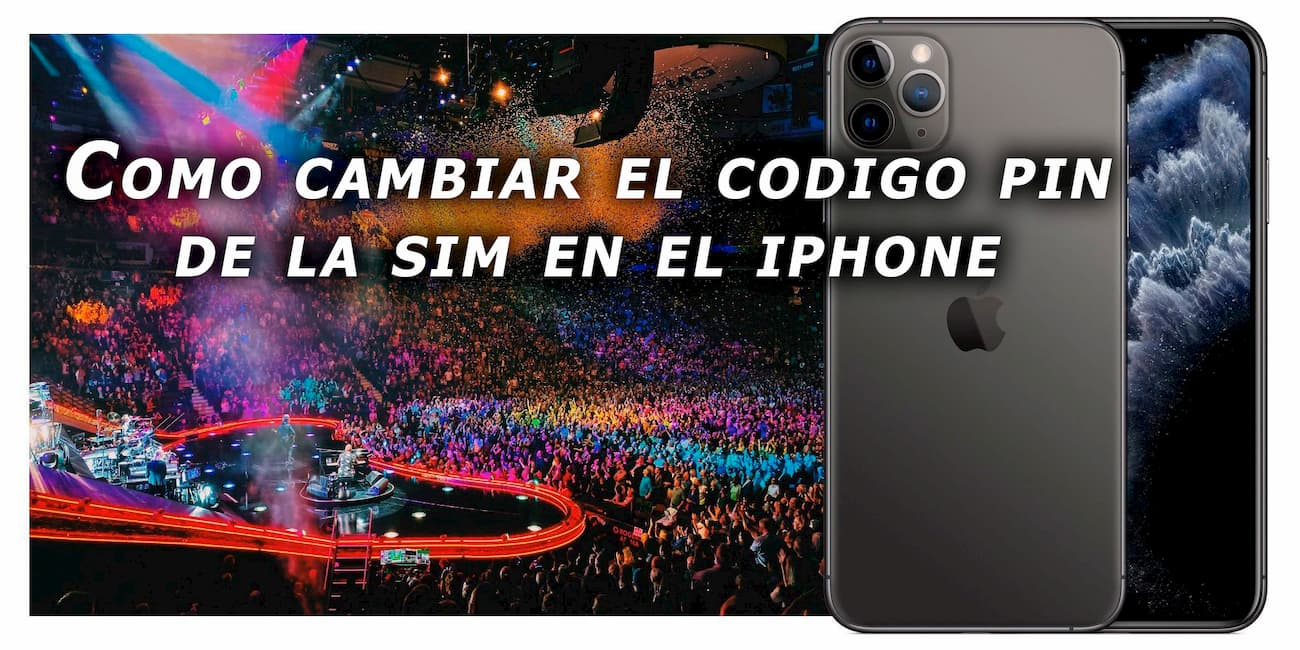 cambiar pin en iphone