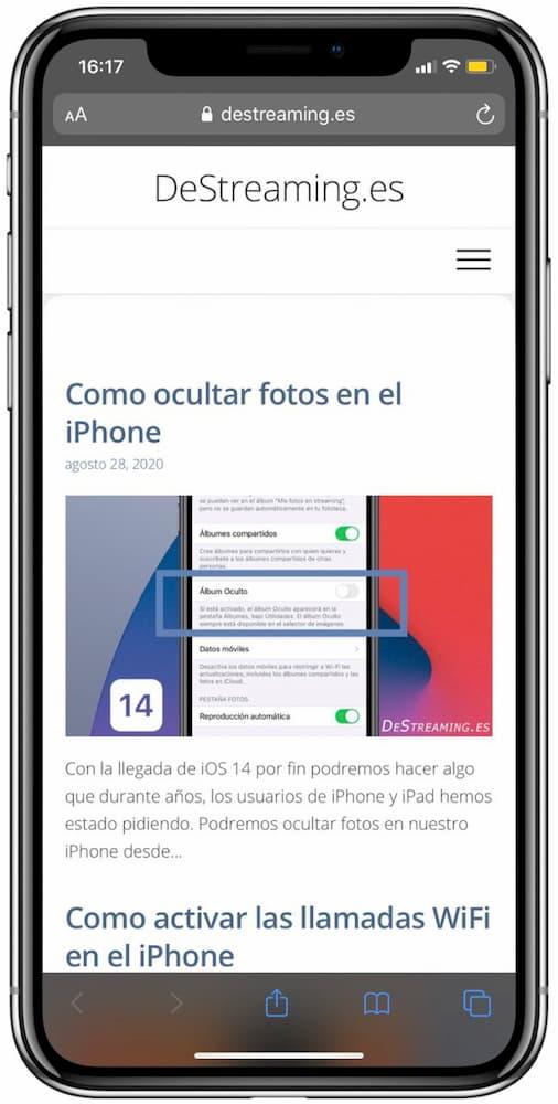 añadir marco de iphone a las capturas de pantalla