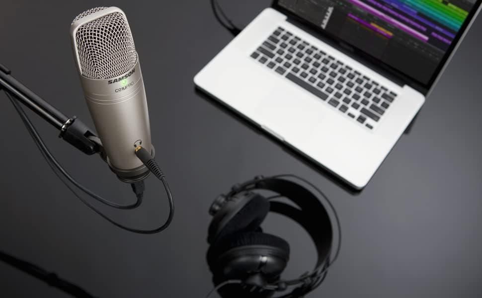 micrófono para podcasting barato