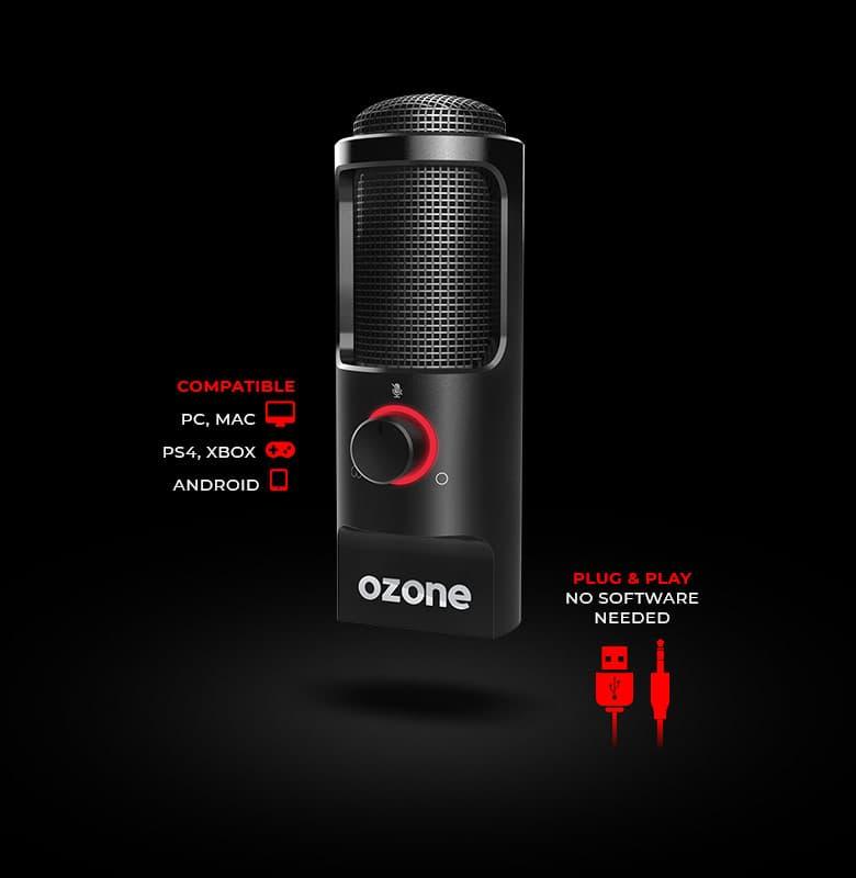 microfono usb playstation 4